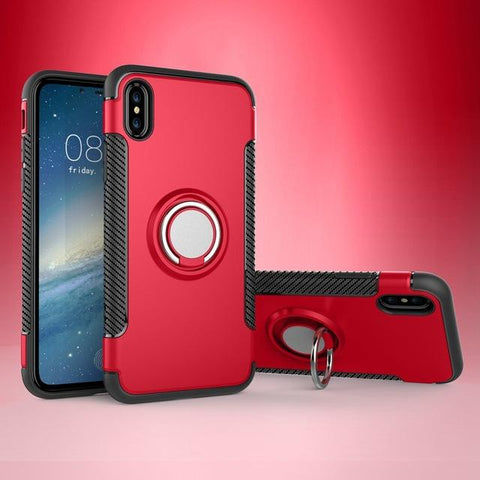 Phone Case - Iphone X Magnetic Suction Phone Shell