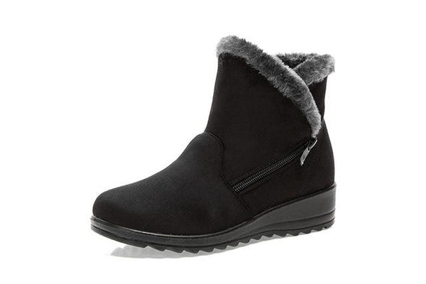 Boots - 3 Color Fashion Casual Fashion Flat Warm Boot