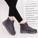 Boots - Antiskid Suede Warm Casual Snow Ankle Boots