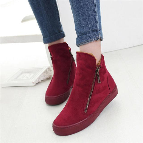Shoes - Warm Plush Women Casual Shoes