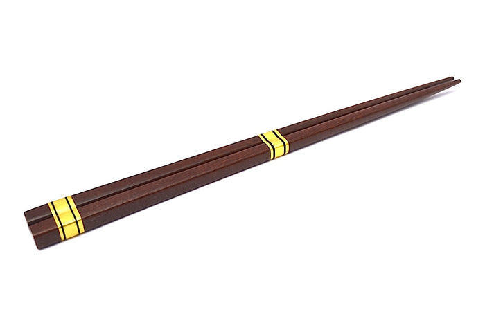 WOOD CHOPSTICKS TRADITIONAL BROWN