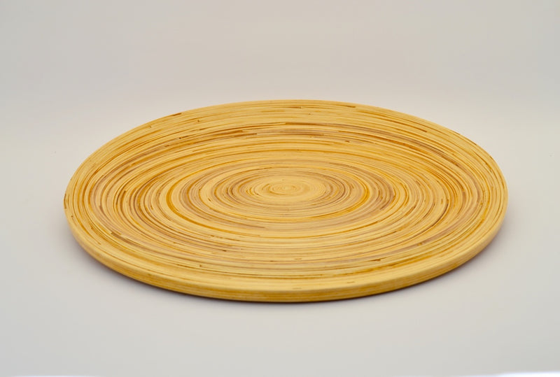 DUAL FUNCTION BAMBOO PLACEMAT & CARRYING TRAY