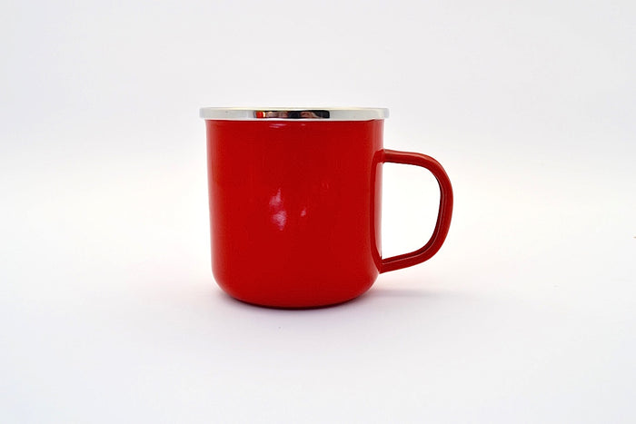 Metal Cup Red