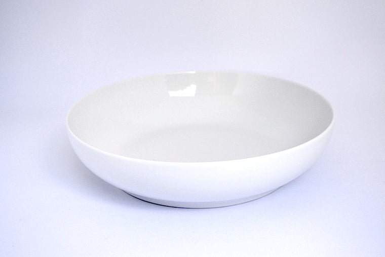 WHITE ARTISAN SALAD BOWL