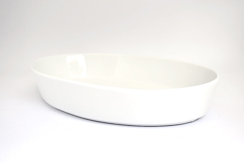 OVAL DEEP DISH SERVING DISH