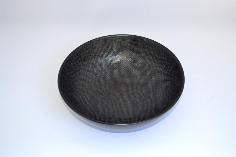 NOIR CANVAS PATTERN SALAD BOWL