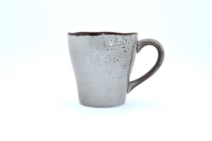 CHANTAL GOLD SPLATTERED MUG GREY