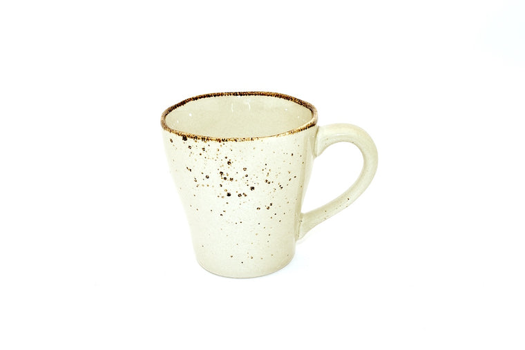 CHANTAL GOLD SPLATTERED MUG BEIGE