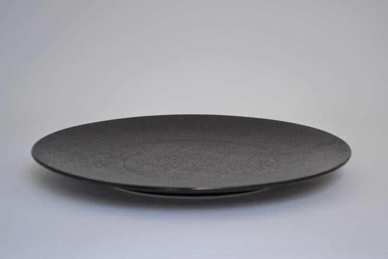 NOIR CANVAS PATTERN MAIN COURSE PLATE