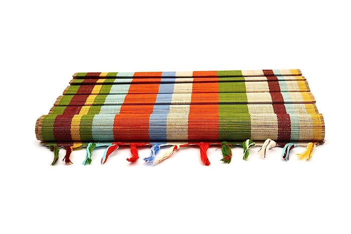 BRIGHT RAINBOW REVERSIBLE PLACEMAT