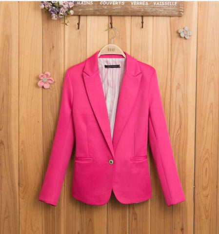 Sale Casual Slim Solid  Blazer