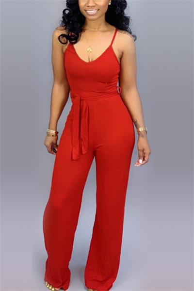 Sexy Sling One-Piece Jumpsuit