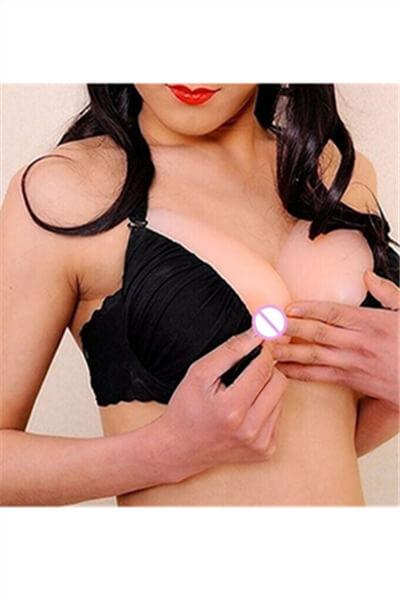 Medical Silicone Teardrop Shape Fake Chest