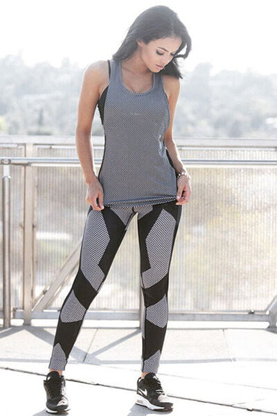 Yoga Fitness Running Gym Exercise Leggings