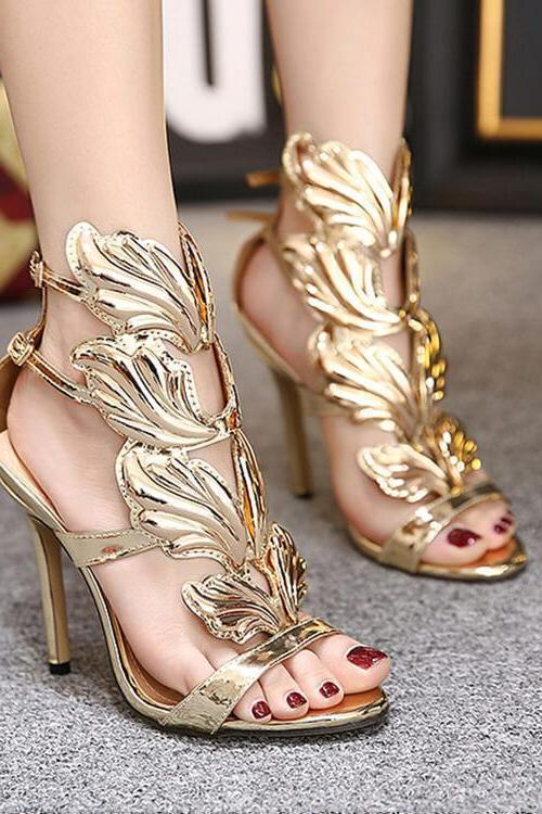 Angel Wings High Heels
