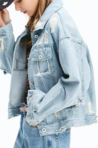 Bleach Graffiti Denim Jacket