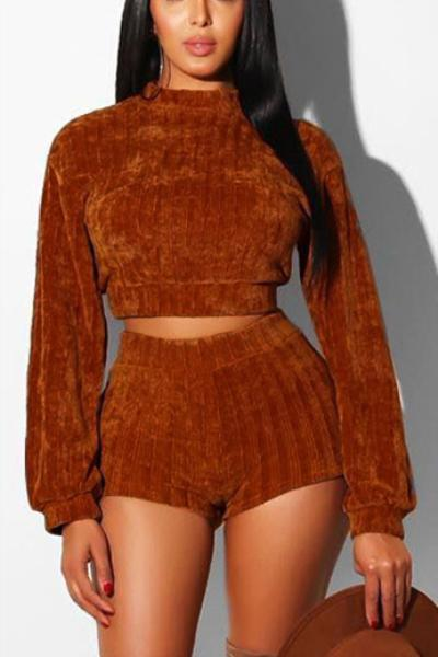 Casual-Knitted-Long-Sleeve-Romper