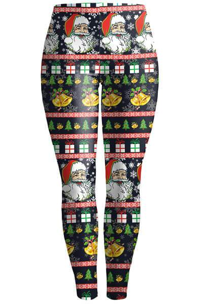 Christmas Pattern Print Leggings