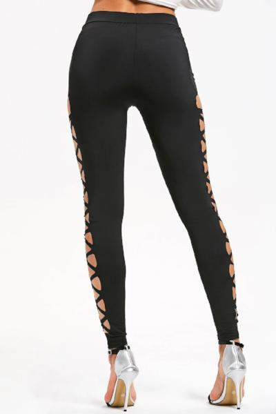Criss Cross Cut Out Leggings
