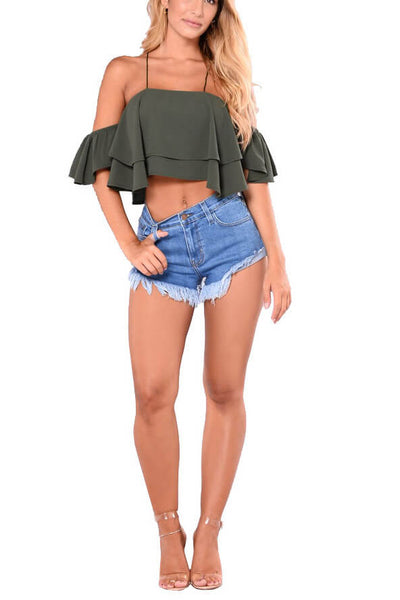 Desert Dreams Frayed Shorts