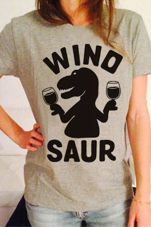 Dinosaur Chic Short Sleeve T-Shirt
