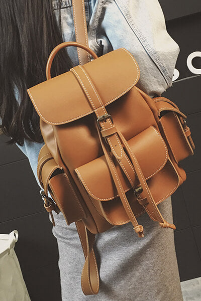 Draw String Backpack Shoulder Bags