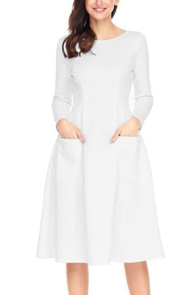 Elegant Long Sleeves Party Maxi Dress