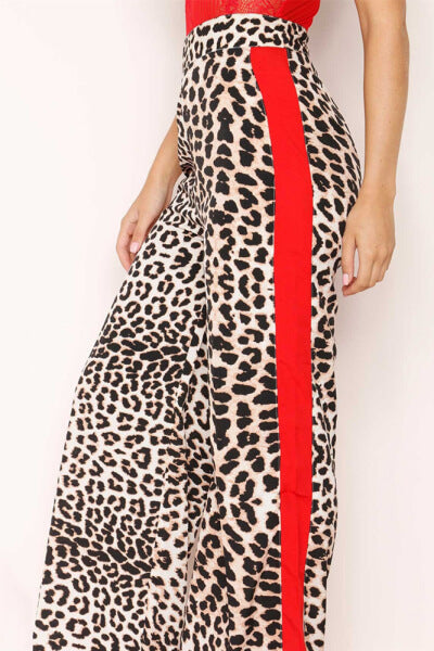 Fashion-Leopard-Print-Wide-Leg-Pants