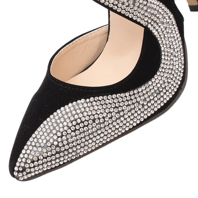 Fashion Rhinestone High Heels