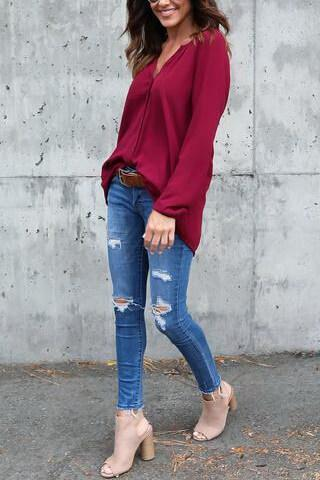 Flowy Casual Shirt