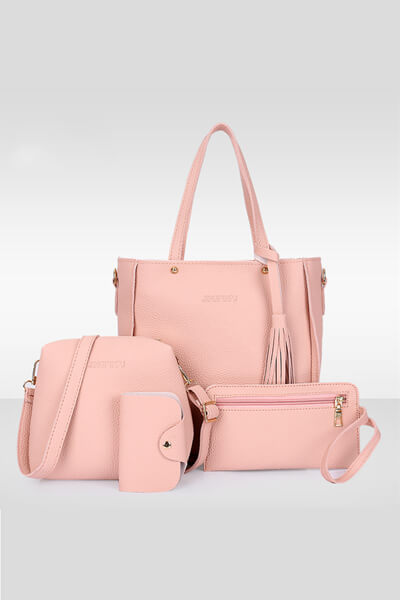 Handbags Single Shoulder Bag 4pcs