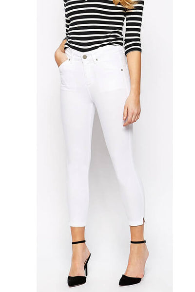 High Stretch Push Up Ankle-length Pants