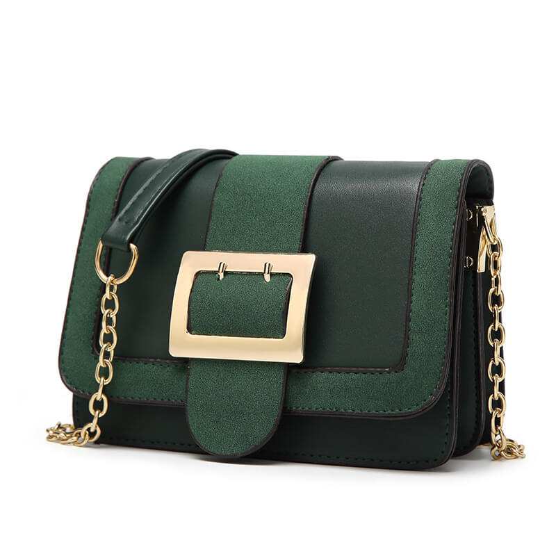 Monica Buckle Crossbody Bag