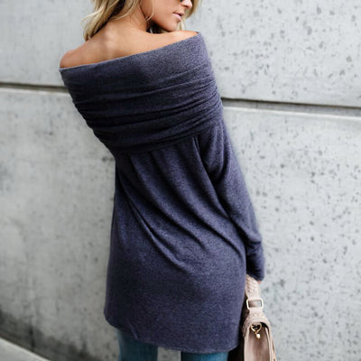 Off The Shoulder Kintted Top