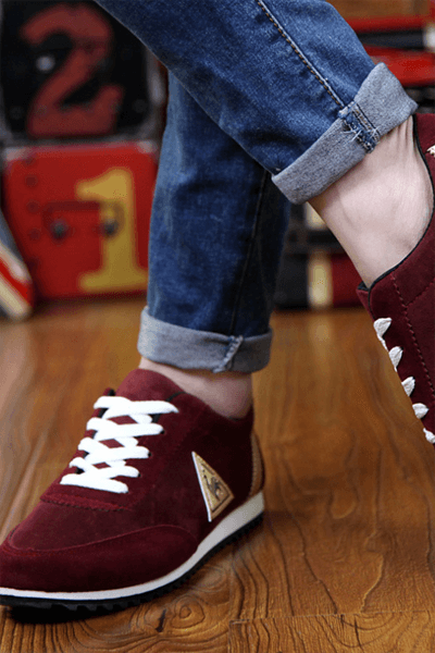 Mens Fashion Summer Autumn Casual Canvas Lace-up Breathable Flats Shoes