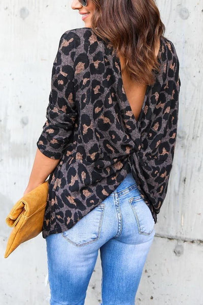 Tabby Twist Back Top