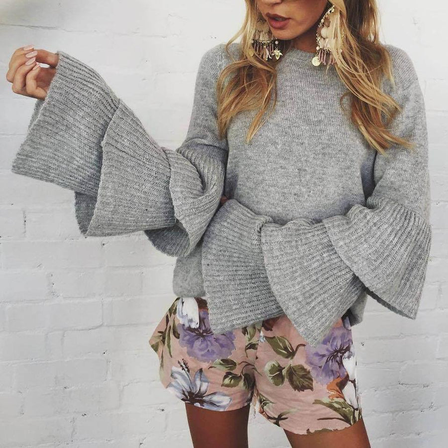 Tiered Sleeve Jumper