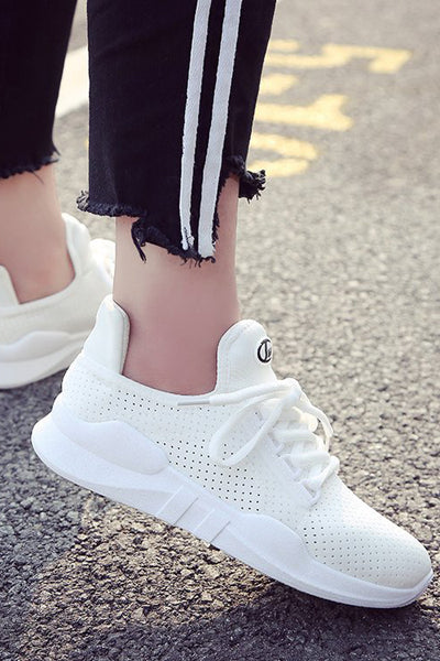 lalaland Mesh Breathable Running Ballet Flats Women Athletic Shoes