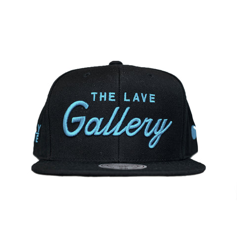 "The Lave Gallery x Mitchell & Ness ""Draft Day"" Snapback : Blk/Lave"