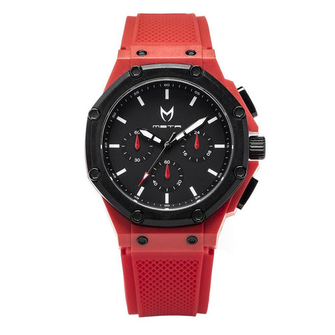 AX109RB - AMBASSADOR X RED / BLACK / RUBBER BAND