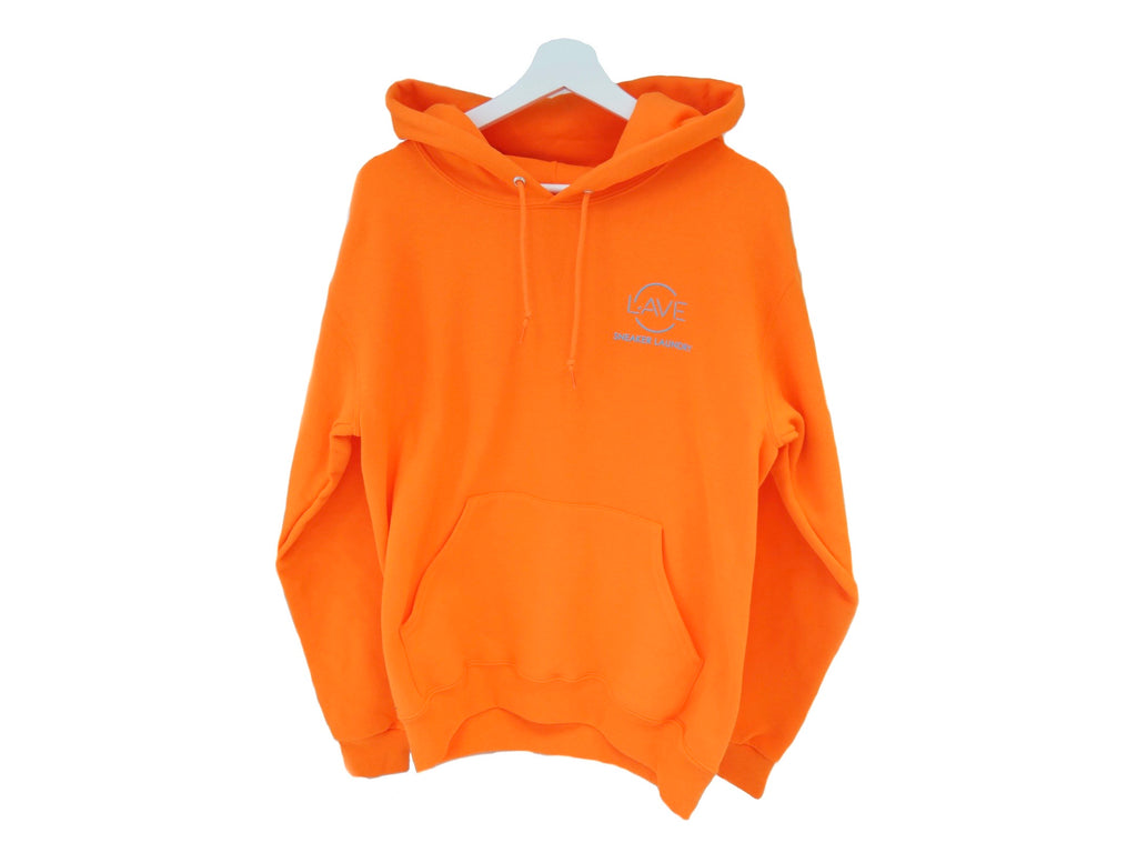 Orange Highlighter Hoodie