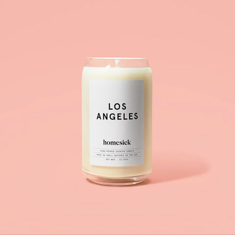 Homesick Soy Candle : Los Angeles