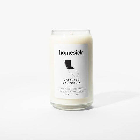 Homesick Soy Candle : Northern California