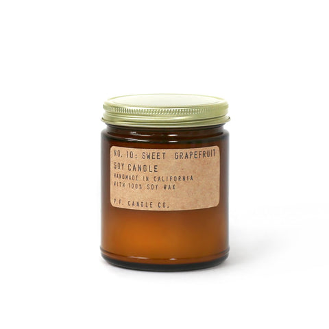NO. 10: Sweet Grapefruit - 7.2 Oz Candle