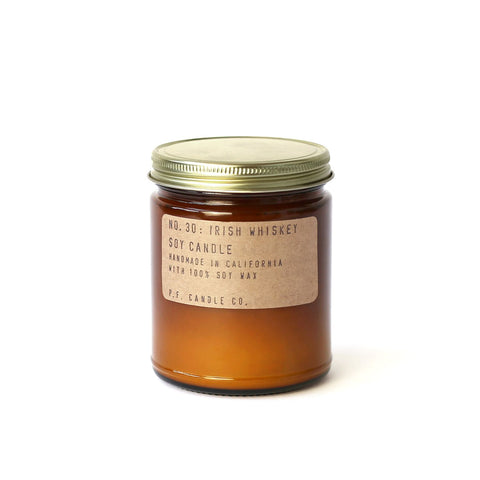 NO. 30: Irish Whiskey - 7.2 Oz Candle