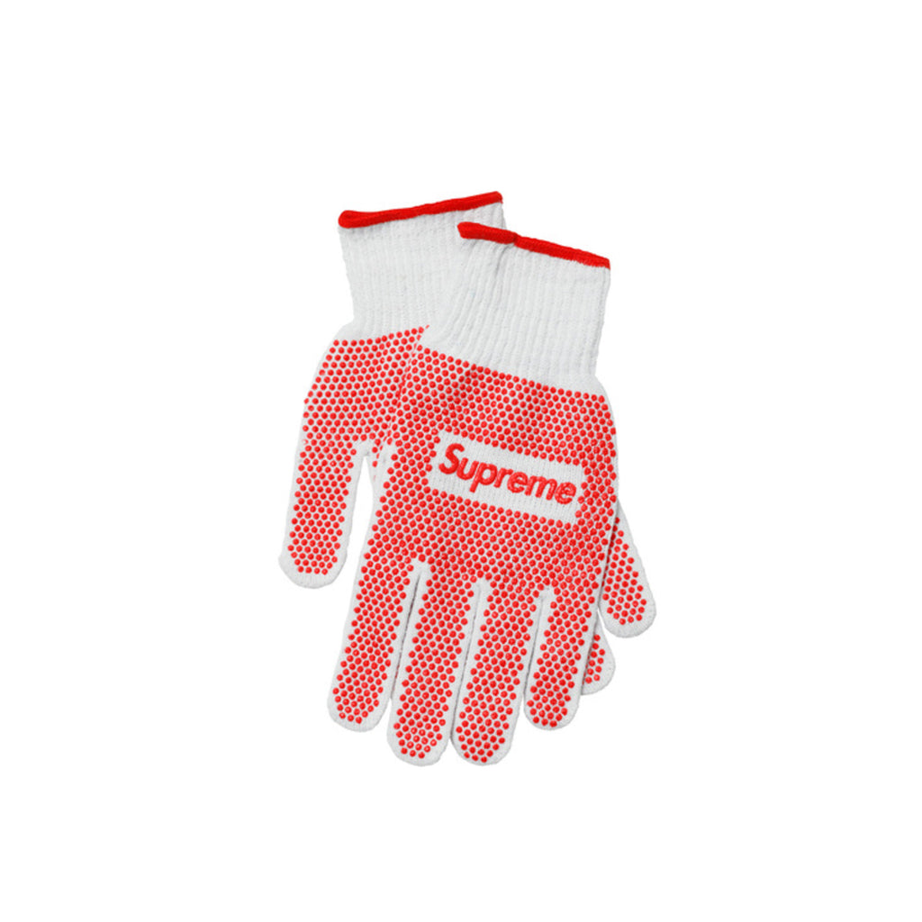 Supreme Work Gloves : White