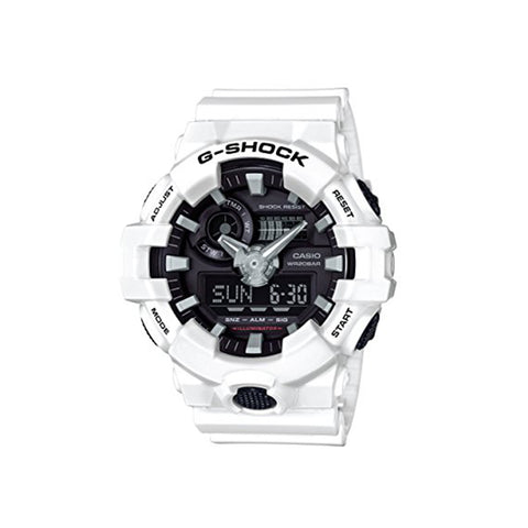 GA700 Analog-Digital Watch : White