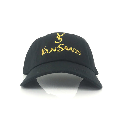 Young Savages Dad Hat : Black