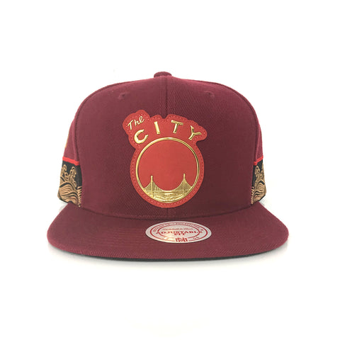 NBA Chinese New Year Snapback : SF Warriors