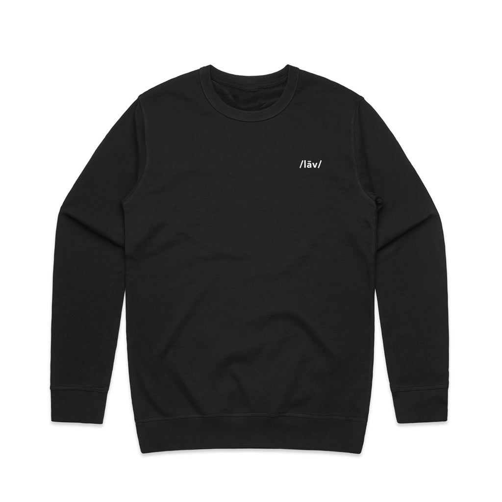 Kroo Crewneck Sweater : Black